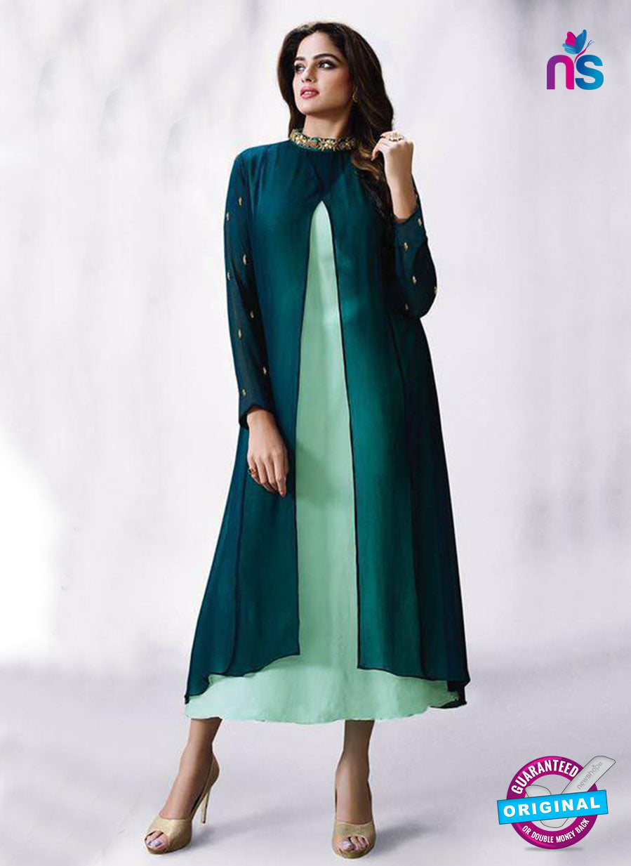 LT 505 Sea Green Exclusive Party Wear Georgette Tunic