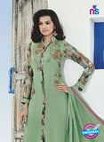 AZ 4000 Green Georgette Party Wear Suit