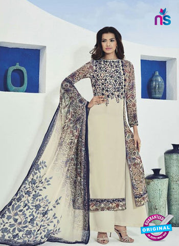 Bela 506 Beige Georgette Party Wear Suit