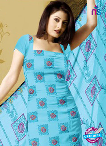 NS10765 Sky Blue Karachi Cotton Designer suit