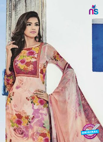 Bela 507 Pink Georgette Party Wear Suit Online