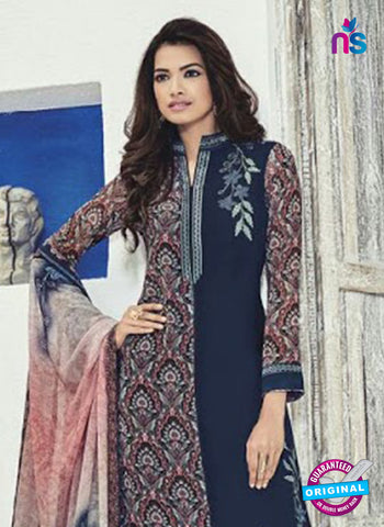 Bela 508 Blue Georgette Party Wear Suit Online