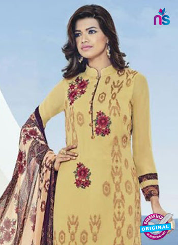 Bela 509 Yellow Georgette Party Wear Suit Online