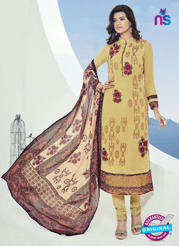 Bela 509 Yellow Georgette Party Wear Suit