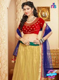 SC 13180 Red and Beige Wedding Wear Valvet Lehenga Choli
