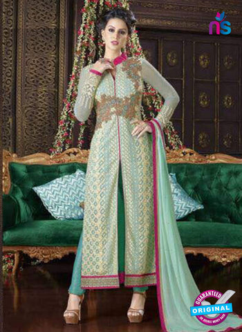 Swagat 5104 Sea Green Party Wear Suit