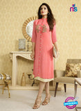 LT 511 Peach Exclusive Party Wear Georgette Tunic