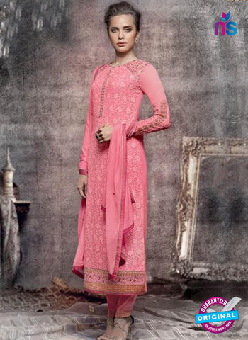 Heroine 5142 Peach Georgette Party Wear Suit