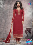 Heroine 5144 Maroon Georgette Party Wear Suit