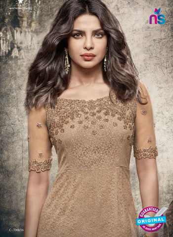 Heroine 5148 Brown Indo Western Suit