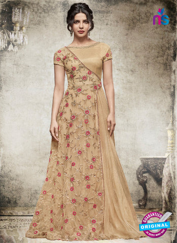Heroine 5152 Brown Indo Western Gowns