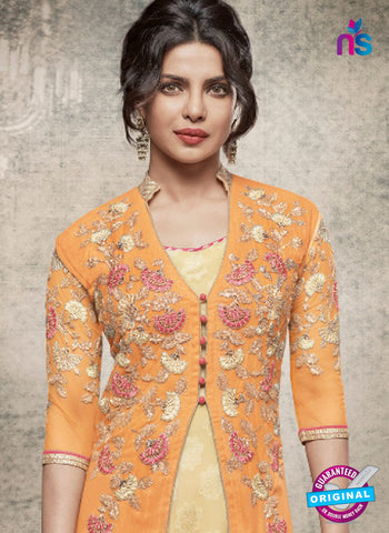 Heroine 5154 Orange Indo Western Suit