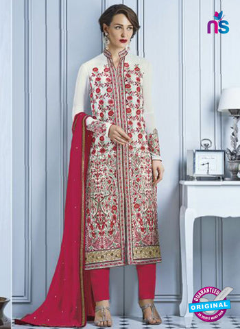 Heroine 5168 White Indo Western Suit
