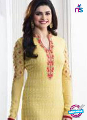 Vinay Fashion 5285 Yellow Party Wear Suit