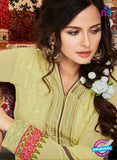 AZ 2265 Green Embroidery Faux Georgette Party Wear Suit - Salwar Suits - NEW SHOP