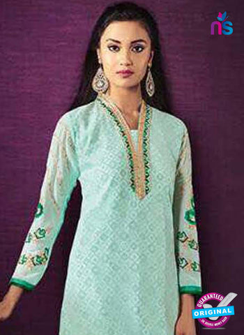SC 42620 Sky Blue Party Wear Suit
