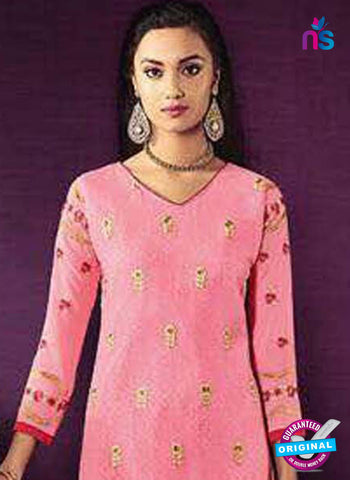 SC 42624 Pink Party Wear Suit