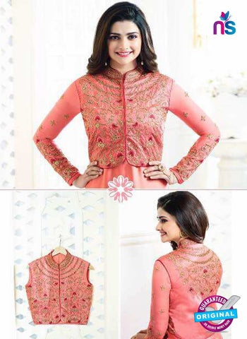 Vinay Fashion 5464 Peach Party Wear Suit