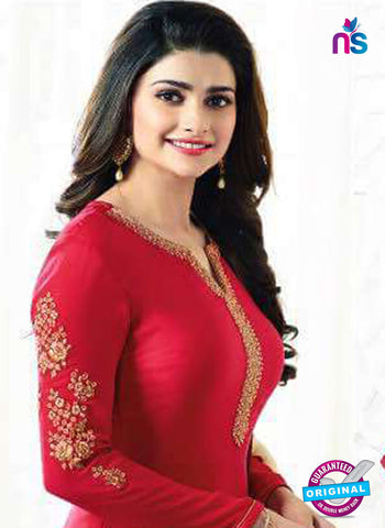 Vinay Fashion 5466 Red Party Wear Suit