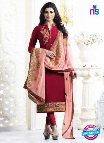 Vinay Fashion 5468 Maroon Party Wear Suit