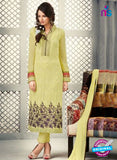 AZ 2265 Green Embroidery Faux Georgette Party Wear Suit