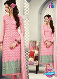 AZ 2266 Pink Embroidery Faux Georgette Party Wear Suit