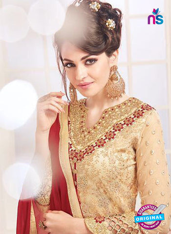 Kesari 5609 Beige Party Wear Suit