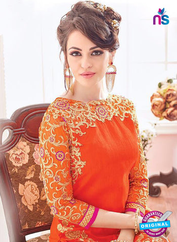 Kesari 5611 Orange Party Wear Suit