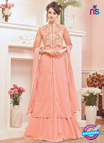 Kesari 5612 Peach Party Wear Suit