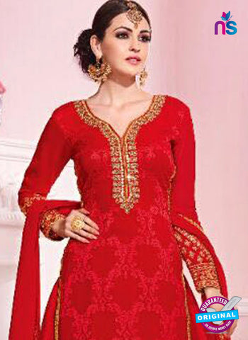 Kesari Trendz 5628 Red Party Wear Suit