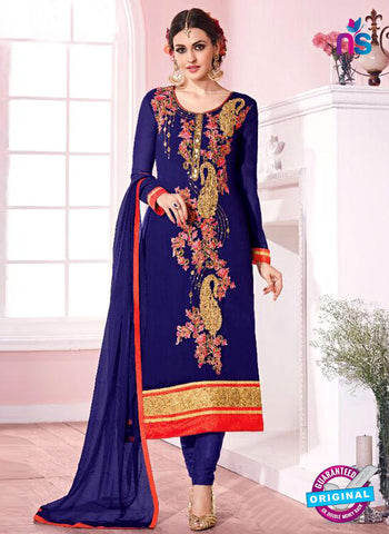 Kesari Trendz 5632 Blue Party Wear Suit
