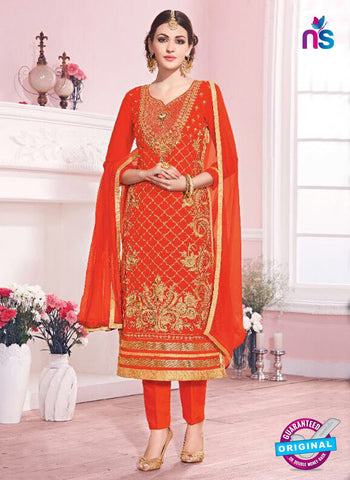 Kesari Trendz 5634 Orange Party Wear Suit
