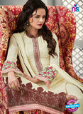 AZ 2268 Beige Embroidery Faux Georgette Party Wear Suit - Salwar Suits - NEW SHOP
