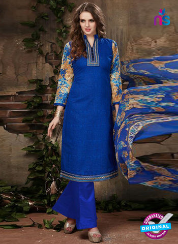 SC 42226 Blue Designer Plazo Suit