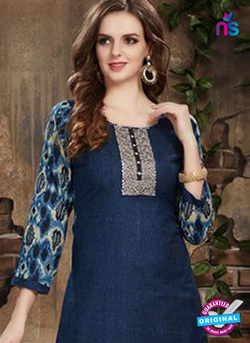 SC 42229 Blue Designer Plazo Suit