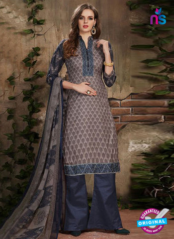 SC 42231 Grey Designer Plazo Suit