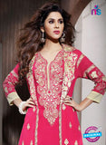 NS10941 Pink and Beige Georgette Party Wear Designer Suit Online