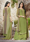 Haya 5904 Green Color Georgette Designer Suit