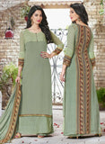 Haya 5908 Green Color Georgette Designer Suit