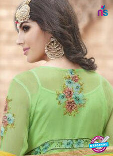 Haya 5959 Green Party Wear Suit