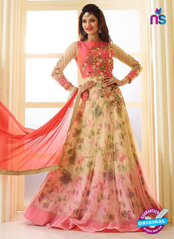 AZ 5208 Multicolor Georgette Designer Anarkali Suit
