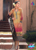 Heer 6001 Yellow Color Cotton Designer Straight Suit
