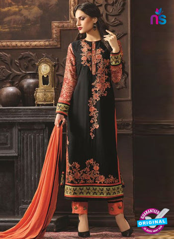 Rose 6001 Black Pakistani Suit