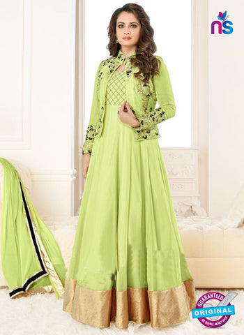 Aashirwad 6002 Green Anarkali Suit