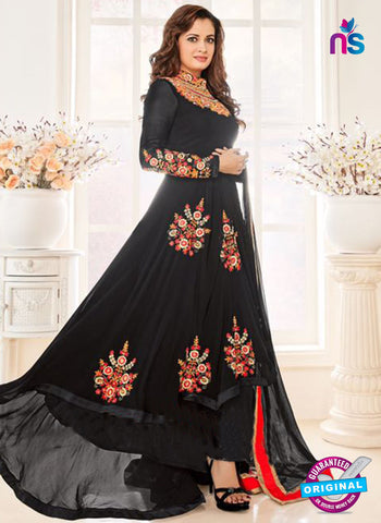 Aashirwad 6003 Black Anarkali Suit