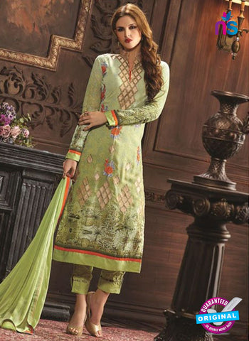 Rose 6004 Green Pakistani Suit