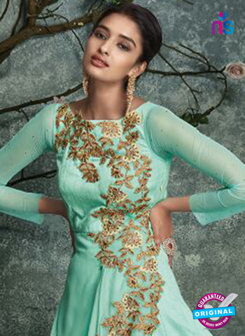 Georgette Party Wear Gown