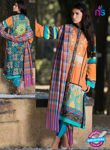 SC 42150 Orange Designer Pakistani Suit
