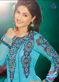 NS12130 Blue Anarkali Suit