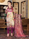Rakhi 6007 Beige & Pink Color Satin Georgette Designer Suit